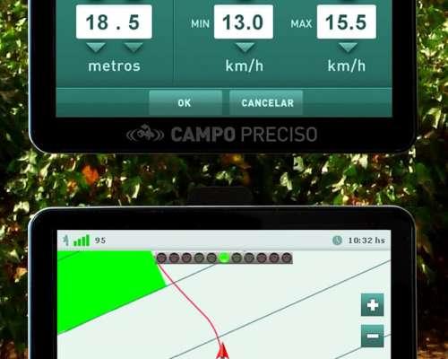 Banderillero Mapeador Satelital Campo Preciso 575 Nitro