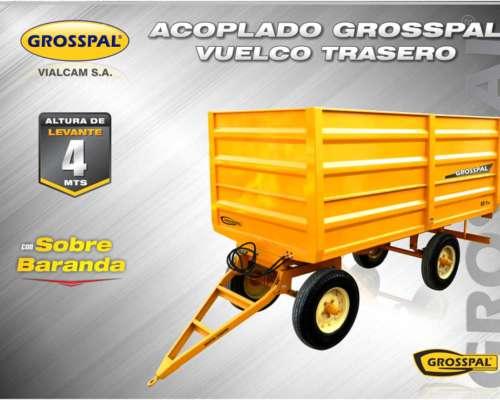 Acoplado Vuelco Trasero - Grosspal