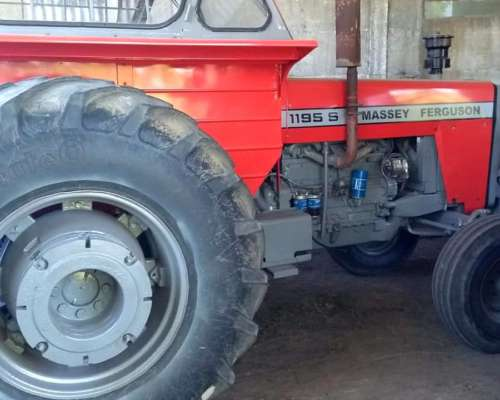 Tractor Massey Ferguson 1195 S Impecable