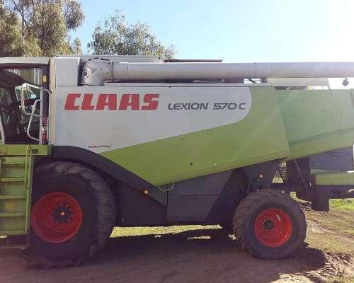 Cosechadora Claas Lexion 570c - Año 2007 (58501841)