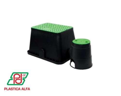 Caja para Válvulas - Estandar. Plástica Alfa
