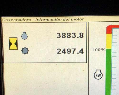 Cosechadora John Deere, S670 SD 640fd