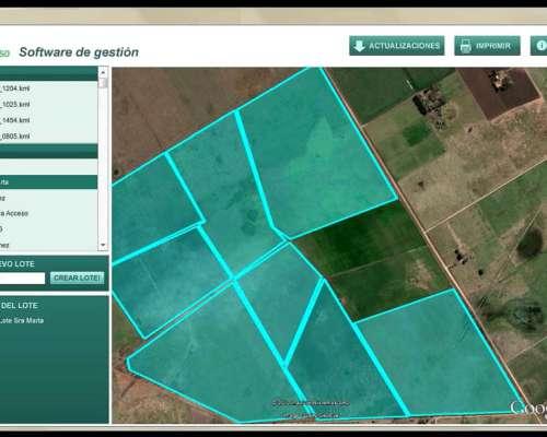 Banderilleros Mapeador Satelital Campo Preciso / Nuevo Comp.