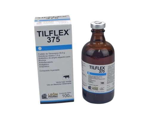 Antibiótico y Antiflamatorio Tilflex 375 X 100 CC