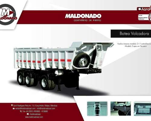 Batea Volcadora Maldonado 2 Más 1