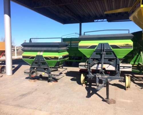 Fertilizadora Bernardin 1250 y 1.700 Litros