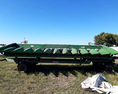 Maicero John Deere - 12 a 52 - Impecable