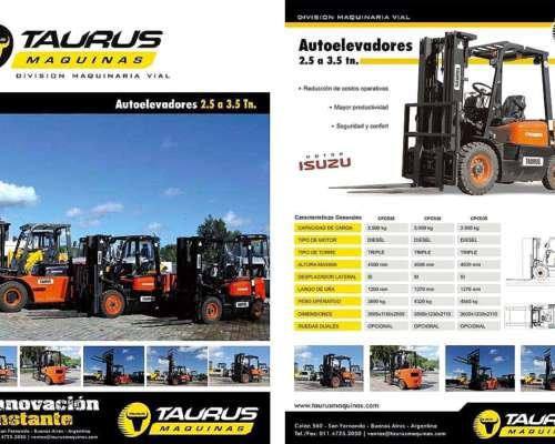 Autoelevador Taurus 3.5 TN