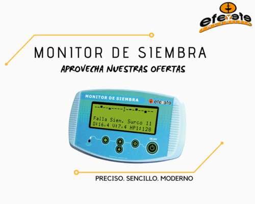 Monitor de Siembra FYF 30 Surcos Instalado