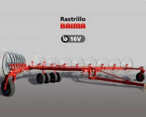 Rastrillo Baima B-16 V Ancho Regulable
