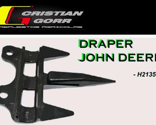 Punton Forjado para Draper John Deere