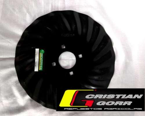 Cuchilla Turbo 18 Ondas de 16 Pulgadas / Sembradoras