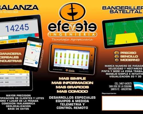 Banderillero Satelital EFE y EFE con Instalacion y Viaticos