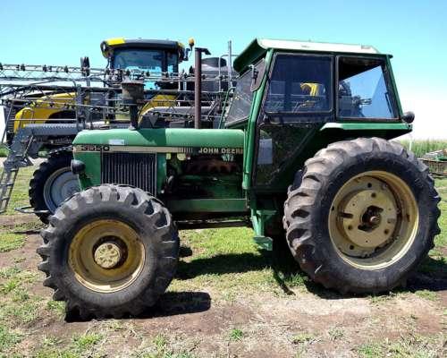 Tractor John Deere 3550, Cabinado, 125hp, Bueno