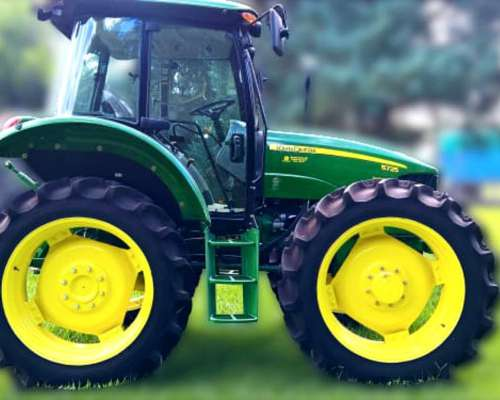 Tractor John Deere 5725 con Cabina Original