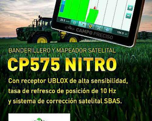Banderillero y Mapeador Satelital CP575 Nitro Receptor 10 HZ