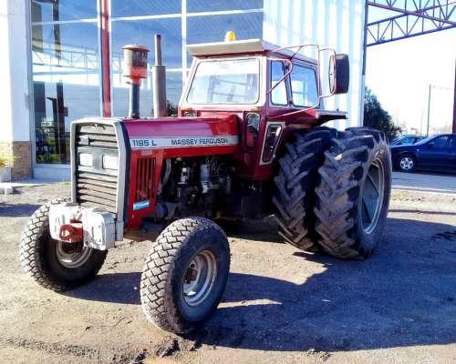 Tractor Massey Ferguson 1195 L 1992
