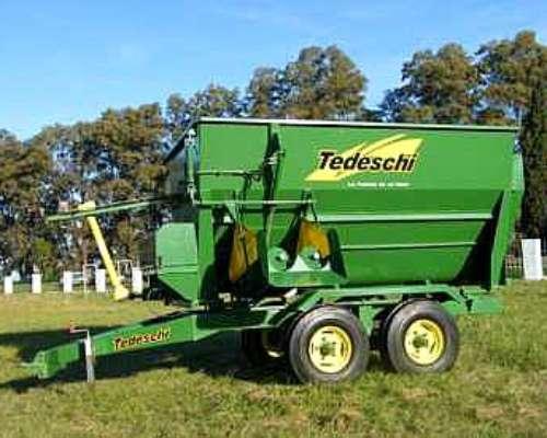 Mixer Tedeschi de 5M3 y 9M3 - Financiación Total