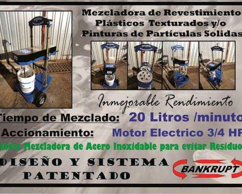 Mezcladora de Revestimientos - Bankrupt -