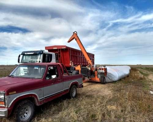 Extractora de Cereales Autonoma sin Tractor