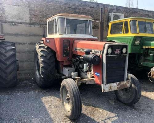 Massey Ferguson 1185, año 1980, Cabina