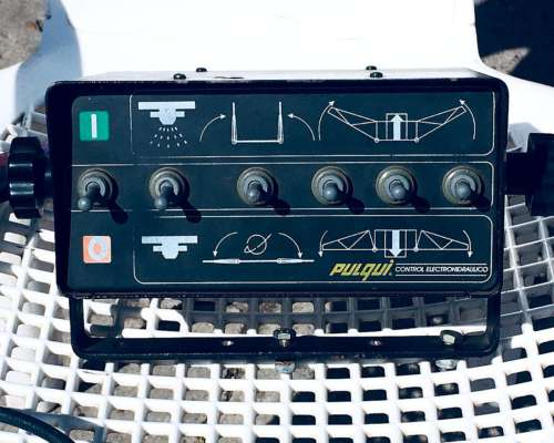 Pulverizador de Arrastre Pulqui Modelo THM 3000 e