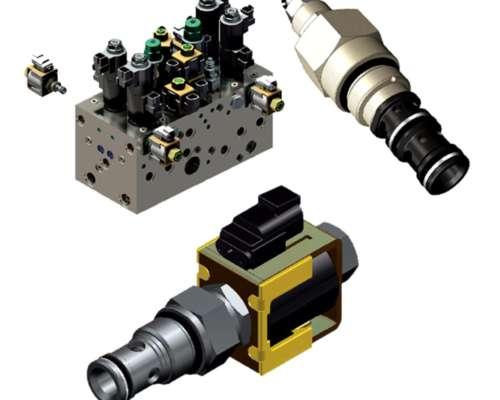 Manifolds y Válvulas Insertables - Comatrol