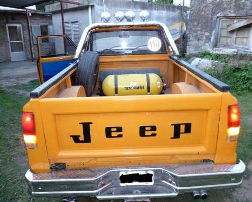 Vendo la Mejor Camioneta Jeep