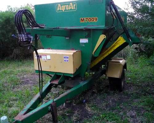 Mixer Agroar 7mts con Balanza