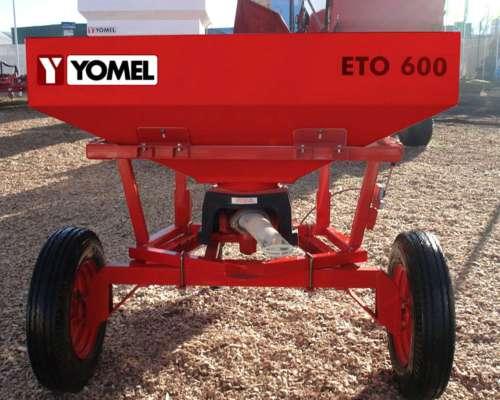 Esparcidora de Fertilizante ETO 600 A-P Marca Yomel