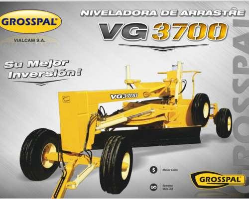 Niveladora de Arrastre VG 3700 - Grosspal