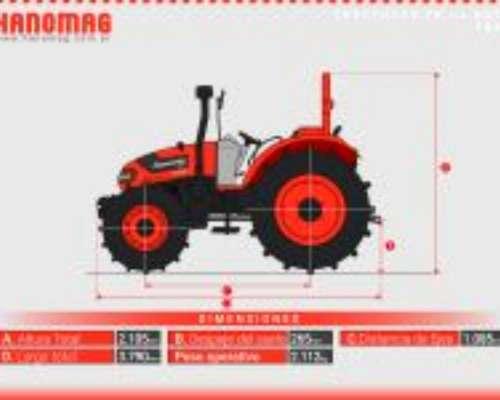 Nuevo Hanomag TR45 4X4 2020 Precio Final