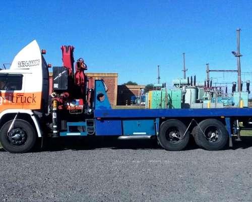 Camion Vw 17-220 Con Grua Amco Veba 825- Excelente