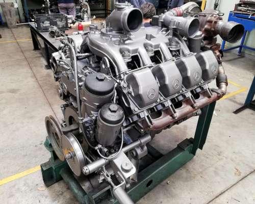 Mecánica Para Class Motor Mercedes Benz Om 502