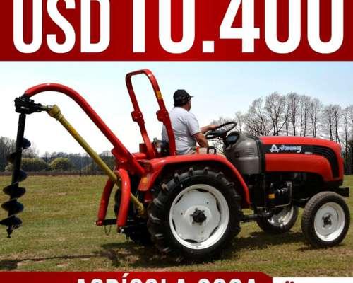 Tractor Nuevo Hanomag 300a - Tracción 4x2- 30hp