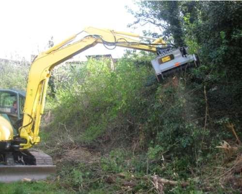 Triturador Forestal FAE Dml/hy Para Excavadoras