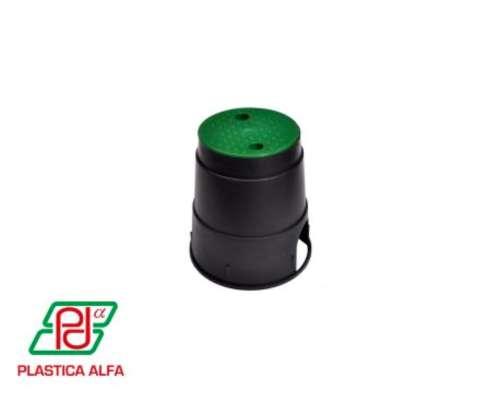 Caja para Válvulas - Circular Mini Plástica Alfa