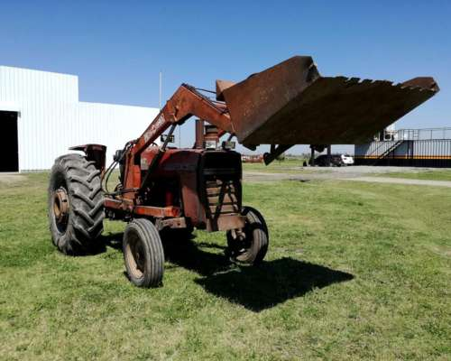 Tractor Massey 1175 con Pala