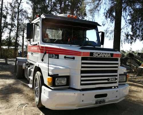 Scania T113h con Equipo Hidráulico