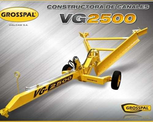 Constructora de Canales VG2500 Grosspal