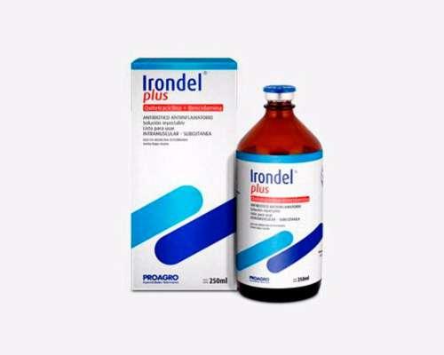 Antibiótico Irondel Plus - Oxitetraciclina - Bencidamina