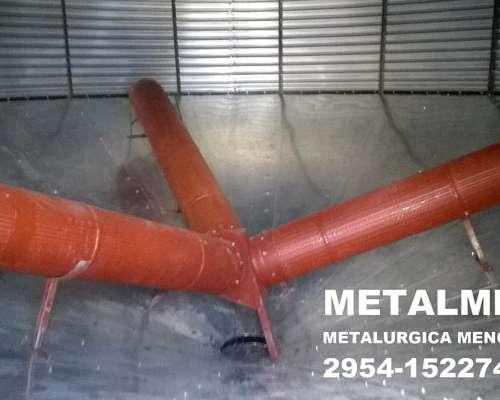 Silo Aereo 100 Tn Metalmen Colonia Menonita