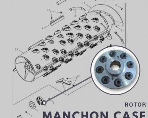 Manchon Rotor Case 8 Bujes