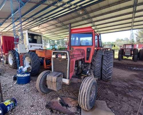 Tractor Massey Ferguson 1215 con Duales