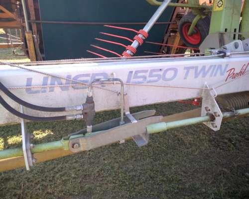 Rastrillo Giroscópico Claas Liner 1550 Twin , de Arrastre