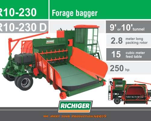 Embolsadora de Forraje - Richiger - R10-230