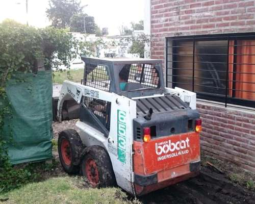 Alquiler Mini Cargadora Bobcat
