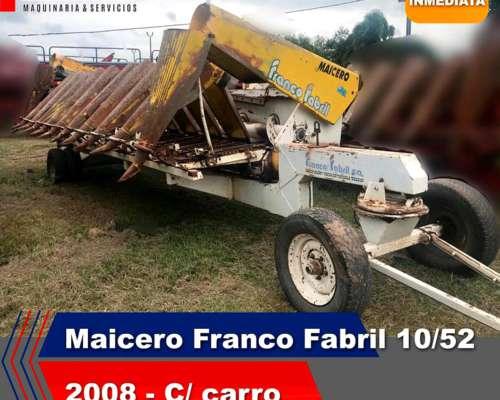 Cabezal Maicero Maicero Franco Fabril 10/52 año 2008 con CAR