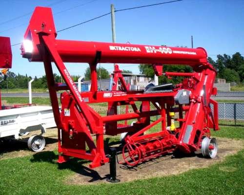 Extractora de Granos Ombu Hidropropulsada Mod EH 400