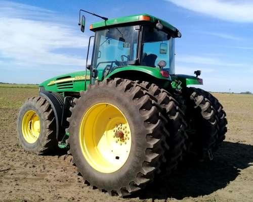 Tractor John Deere 7815, año 2006